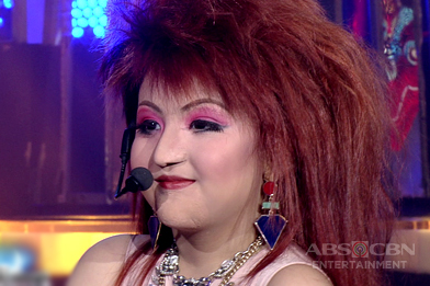 Jury, masaya sa performance ni Alonzo as Cyndi Lauper
