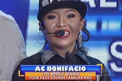 Your Face Sounds Familiar Kids: AC Bonifacio as Janet Jackson - Winner of Week 11