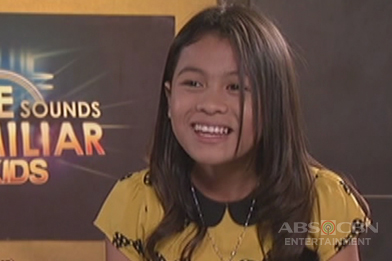 Your Face Sounds Familiar Kids Rehearsal: Lyca Gairanod as Donna Cruz