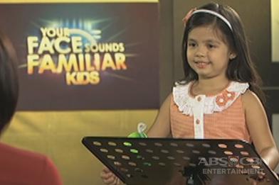 Your Face Sounds Familiar Kids Rehearsal: Xia Vigor as Julie Andrews