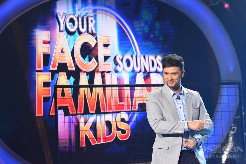 PHOTOS: Your Face Sounds Familiar Kids Pilot