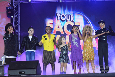 PHOTOS: Your Face Sounds Familiar Celebrity Kid Performers at Ikaw Ang Sunshine Ko, Isang Pamilya Tayo: The ABS-CBN Trade Event