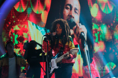 WEEK 13 WINNER: Justin Alva as Bob Marley