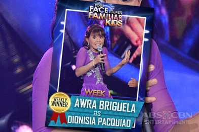 RECAP: Your Face Sounds Familiar Kids Weekly Winners