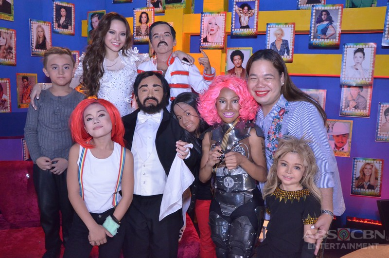 PHOTOS: Your Face Sounds Familiar Kids Grand Showdown Online Show